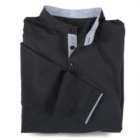 Henley-Shirt Langarm 7056...