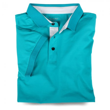 Polo-Shirt 7032 aquamarin