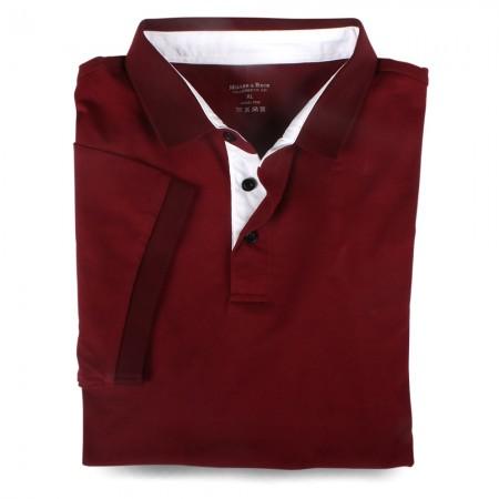 Polo-Shirt 7032 burgund