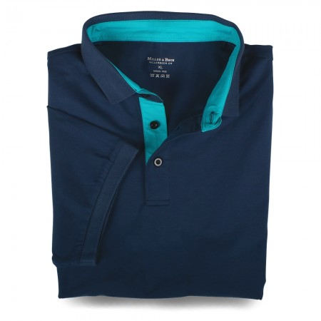 Polo-Shirt 7032 dunkelblau