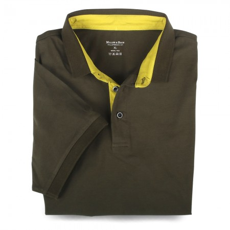 Polo-Shirt 7032 dunkelgrün