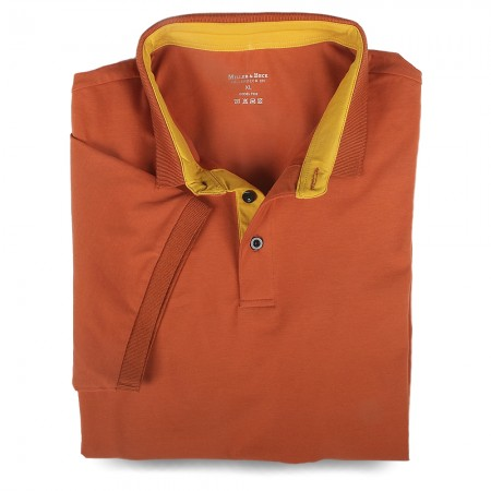 Polo-Shirt 7032 terracotta