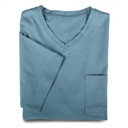 V-Shirt 7110 hellblau