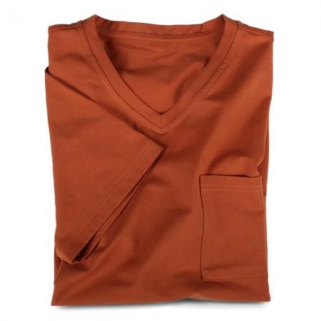 V-Shirt 7110 terracotta