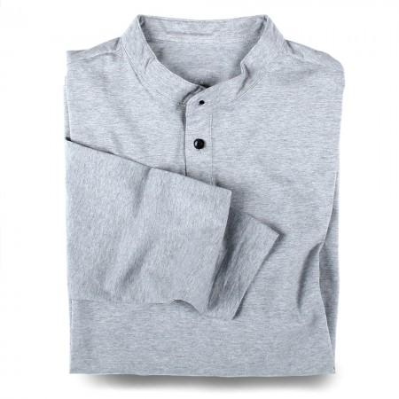 Henley-Shirt Langarm 7055