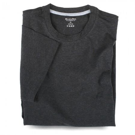 T-Shirt 7045 anthrazit meliert