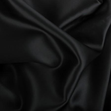 Seiden Bettwäsche schwarz
