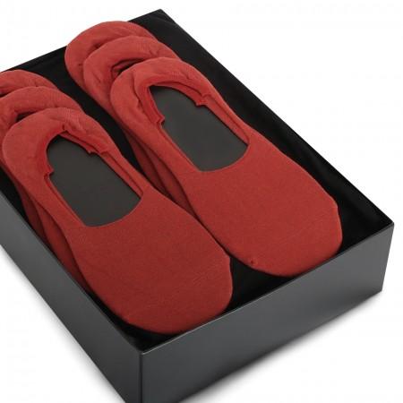 Platin Invisible Socken 6er...