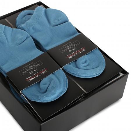 Platin Sneaker Socken 10er...